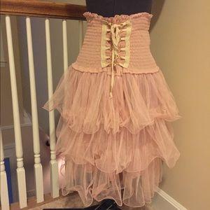 Dresses & Skirts - Vintage Inspired Corset Tutu (Netted) Skirt - M